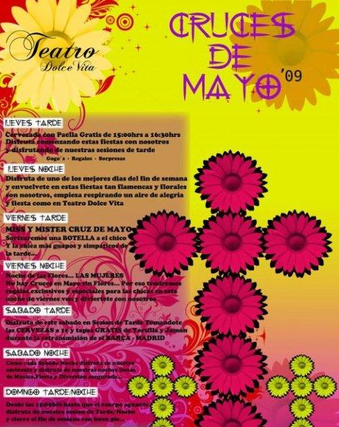 Cruces de Mayo en Dolce Vita Teatro