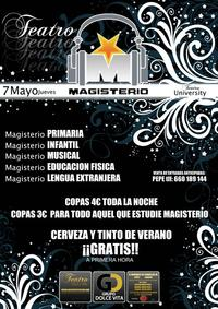 Fiesta de Magisterio en Dolce Vita Teatro