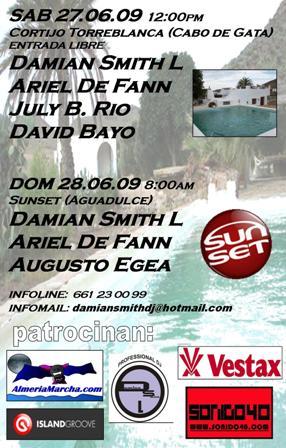 Fiesta Cortijo Torreblanca con Damian Smith L