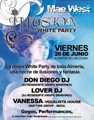 Illusion White Party by Legendario