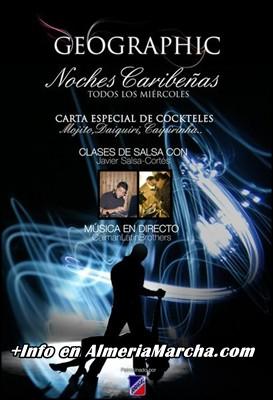 Noches Caribeñas en Pub Geographic Almería