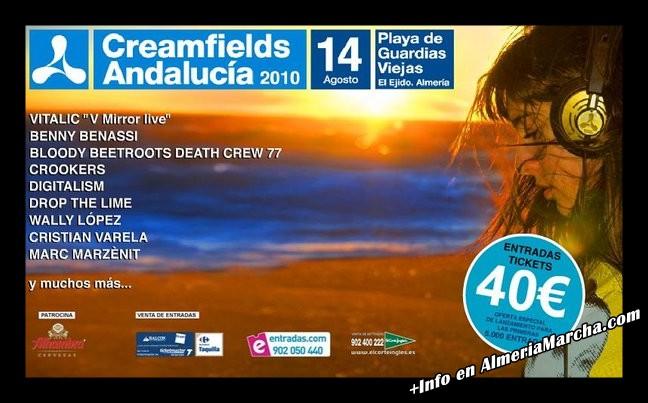 Creamfields Andalucía 2010