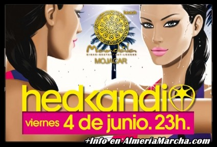 Hed Kandi con Dj Andrew Daniels en Mandala Mojácar