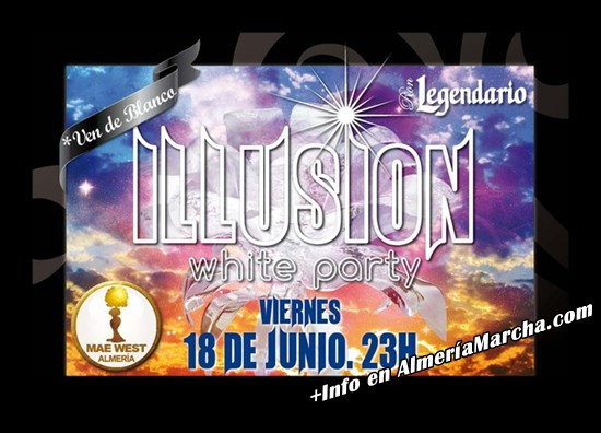 Illusion White Party 2010, Mae West Almería