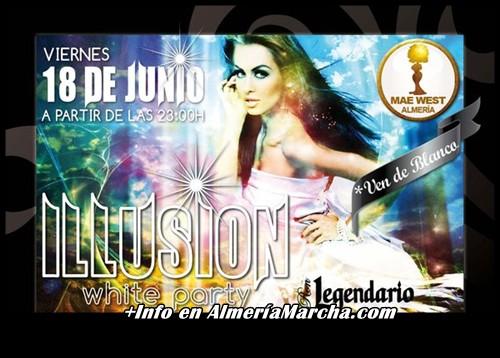 Illusion White Party 2010, Mae West Almería