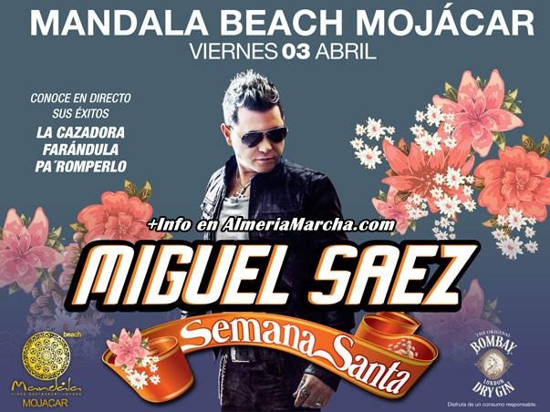 Miguel Sáez en Mandala Mojácar