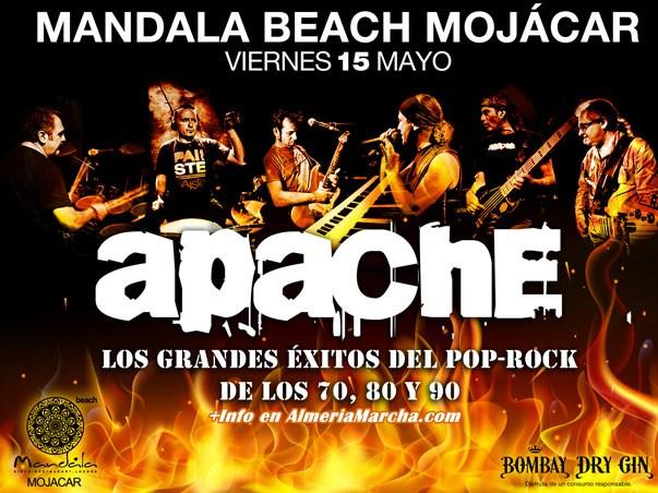 Apache en Mayo en Mandala Mojácar