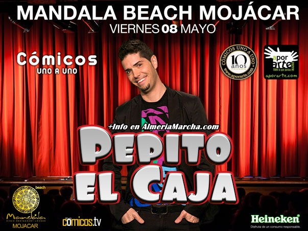 Pepito El Caja en Mandala Mojácar