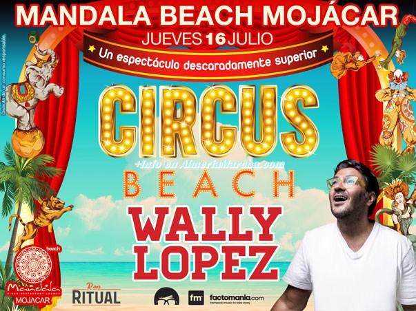 Circus en Mandala Mojácar 2015