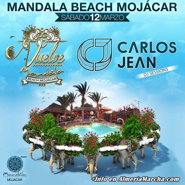 Mandala Mojácar 2016 con Carlos Jean