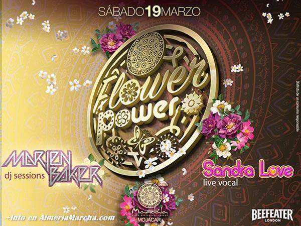 Flower Power en Mandala Mojácar con Marien Baker