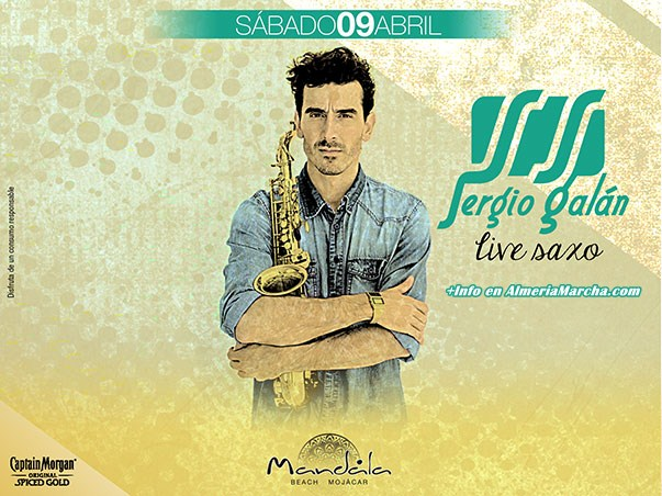 Sergio Galán en Mandala Mojácar. 9 de Abril de 2016